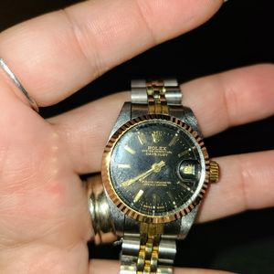 Old Rolex from parents found in junk box.